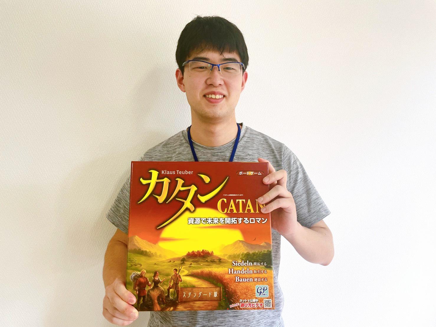 ボードゲーム会を主催する大学生 加福さんに会ってきた!